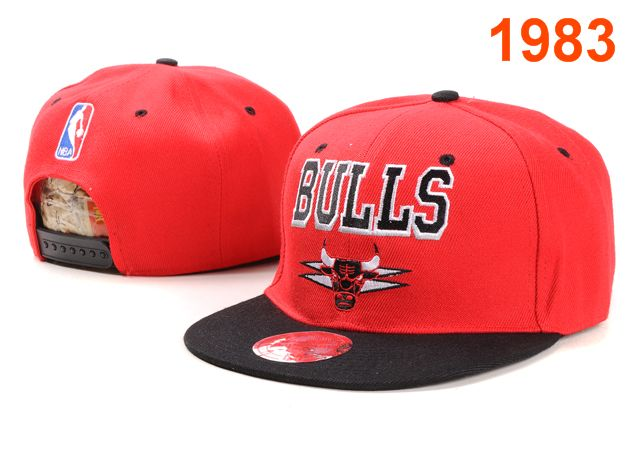 Chicago Bulls NBA Snapback Hat PT004